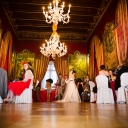 Wedding reception in an Italian Baroque Palace